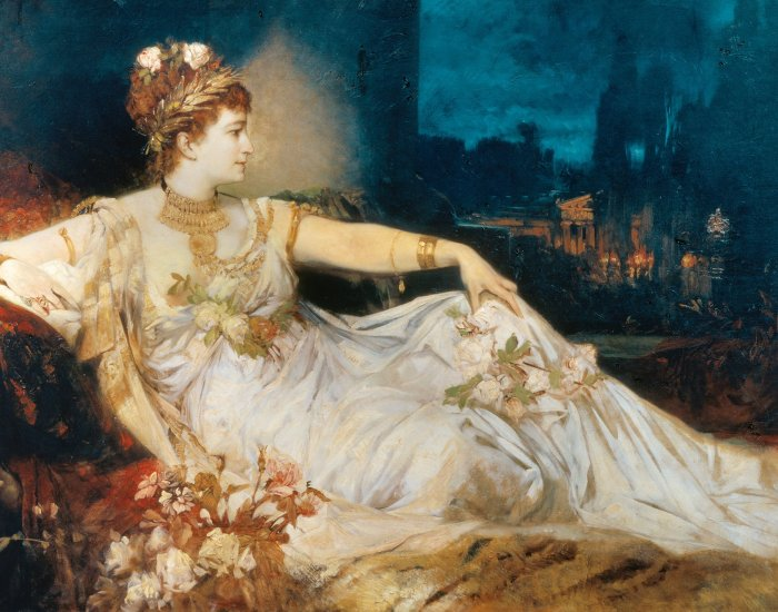 messalina the empress of Imperial Rome