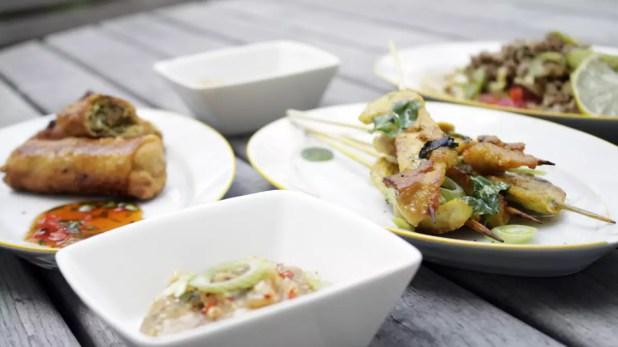 Asiatisches Fingerfood
