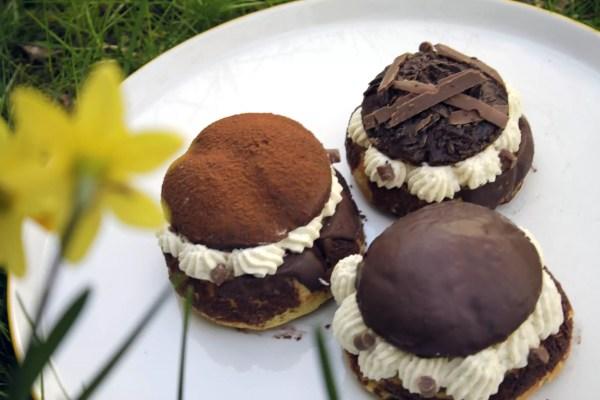 Schokoladen Choux