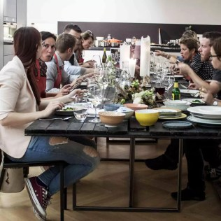 Gruppe essen