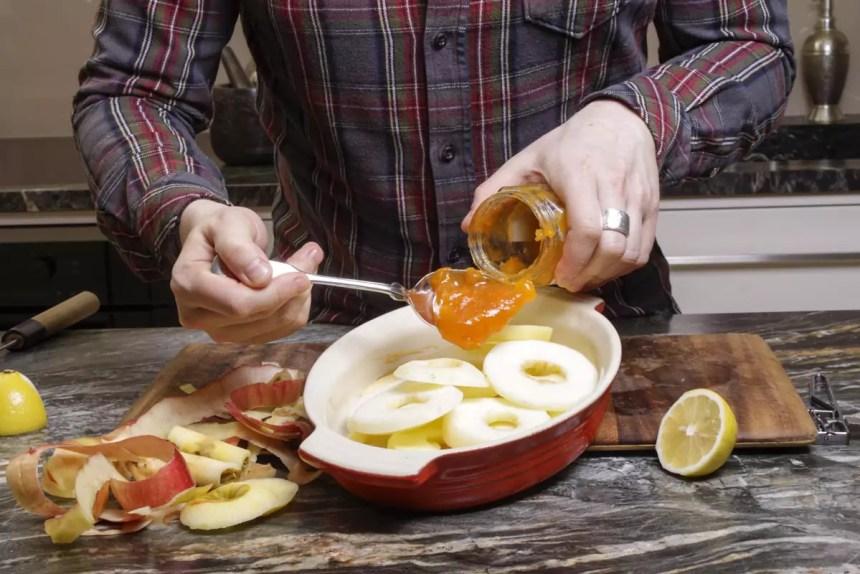 Mit Marmelade marinieren