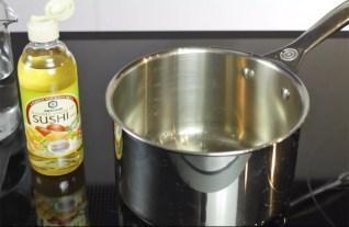 Essig aufkochen