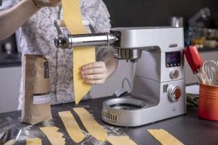 Pasta Teig dünn machen