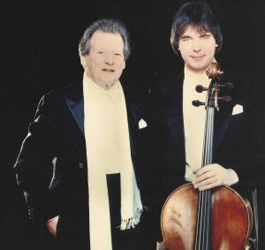 Julian Lloyd Webber with Sir Neville Marriner