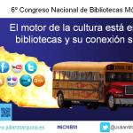 El motor de la cultura está en las bibliotecas y su conexión social
