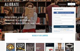 ALIBRATE red social lectores lectura y libros