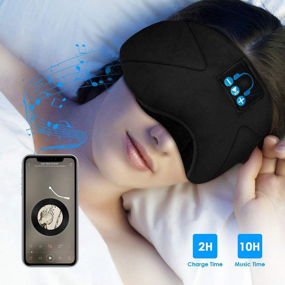 Antifaz bluetooth para dormir escuchando audiolibros