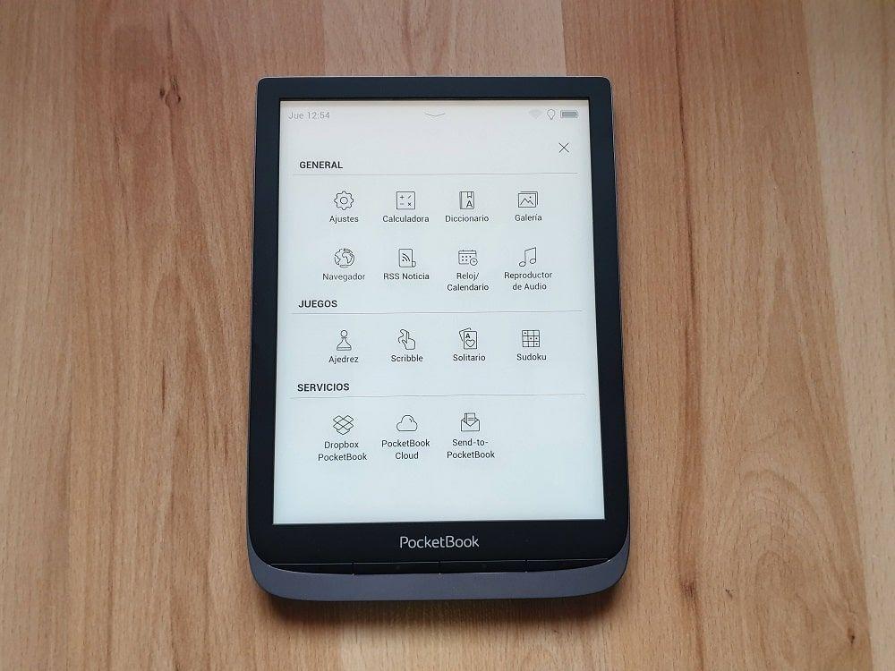 Aplicaciones PocketBook InkPad 3 Pro