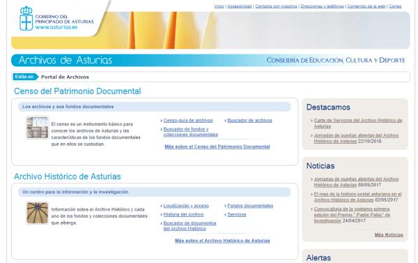 Archivos de Asturias