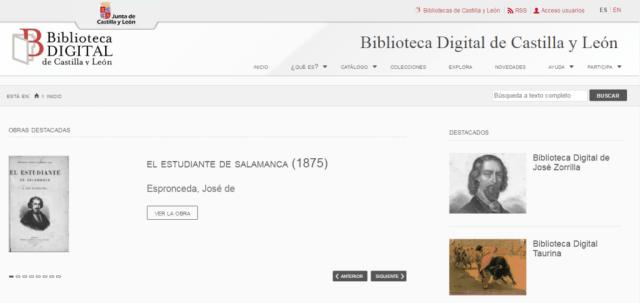 Biblioteca Digital de Castilla y León (BDCYL)