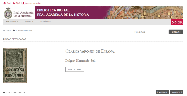 Biblioteca Digital de la Real Academia de la Historia