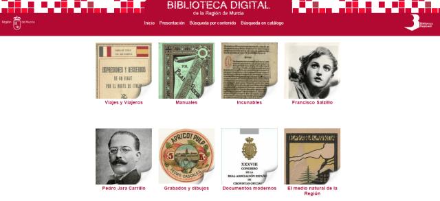 Biblioteca Digital de la Región de Murcia