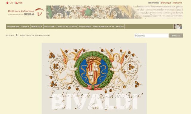 Biblioteca Valenciana Digital (BIVALDI)