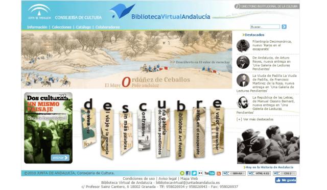 Biblioteca Virtual de Andalucía