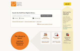Biblioteca digital HathiTrust