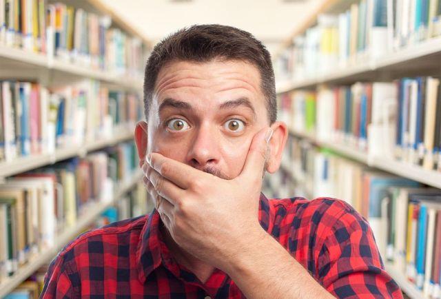 Biblioteca en shock