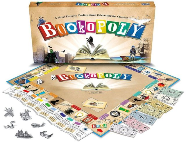 Bookopoly Board Game