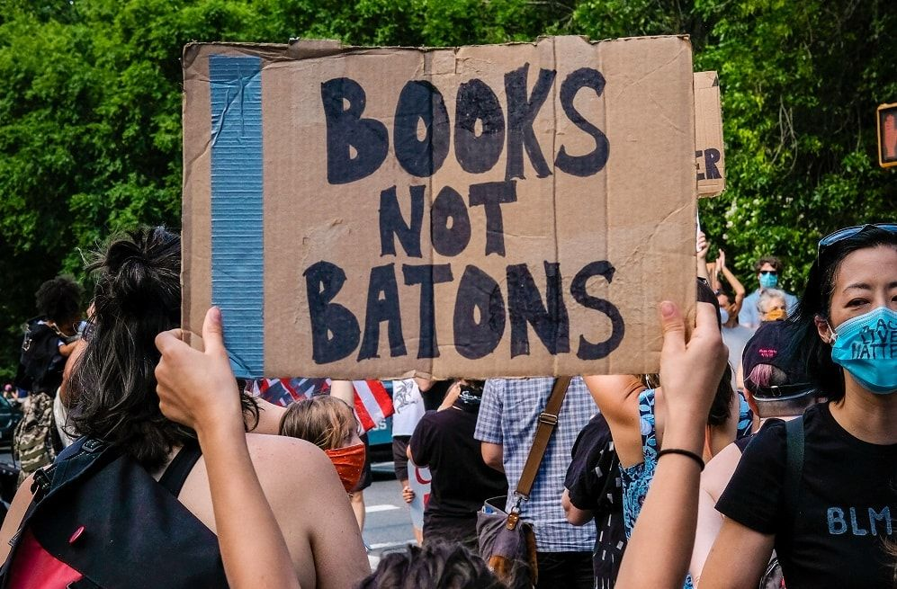Books not batons