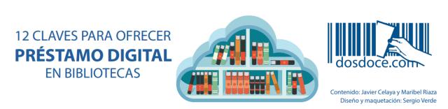 Cabecera de infografía 12 claves para ofrecer préstamo digital en las bibliotecas
