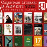 Calendario literario de Adviento de las Bibliotecas de Gandía