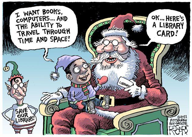 Carnet de biblioteca Dibujante Rob Rogers