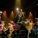 Cirque du Soleil opening act from Bazzar. Marie-Andree Lemire