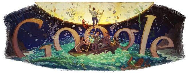 Doodle Italo Calvino