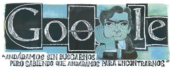 Doodle Julio Cortázar