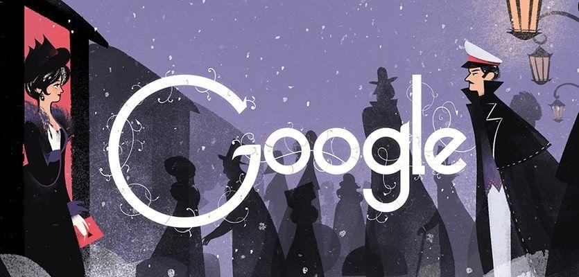 Doodle Leo Tolstoy