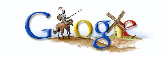 Doodle Miguel de Cervantes