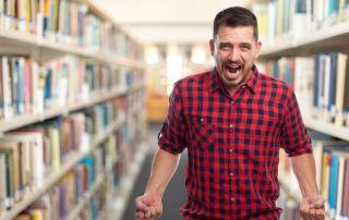 El estrés también existe dentro de las bibliotecas públicas