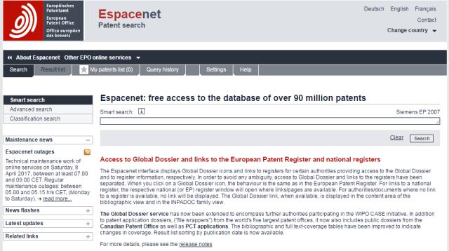 Espacenet