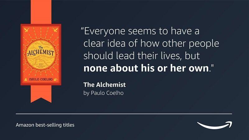 Frase Alchemist Coelho