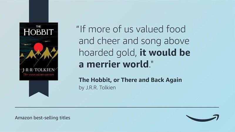 Frase Hobbit Tolkien