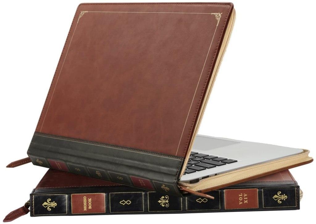 Funda protectora de ordenador portátil con forma de libro