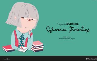 Gloria Fuertes es toda una institución literaria y social en España