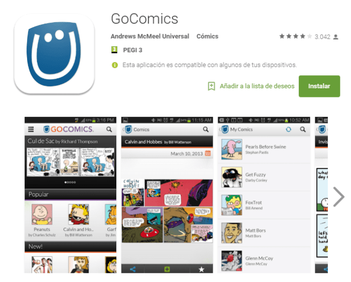 GoComics for Android