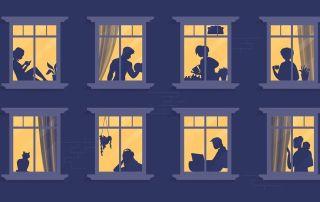 Hay iniciativas de bibliotecas vecinales para compartir libros y lecturas desde el confinamiento