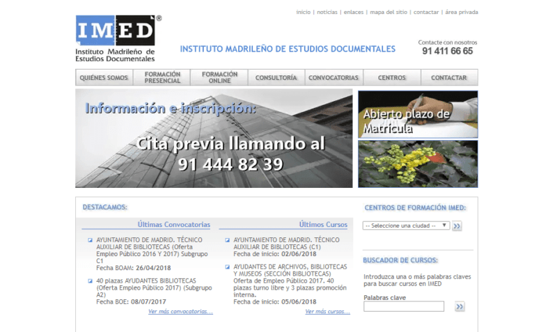 IMED – Instituto Madrileño de Estudios Documentales