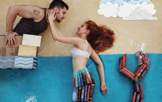 James Trevino y Elizabeth Sagan bookstagrammers libros lectura