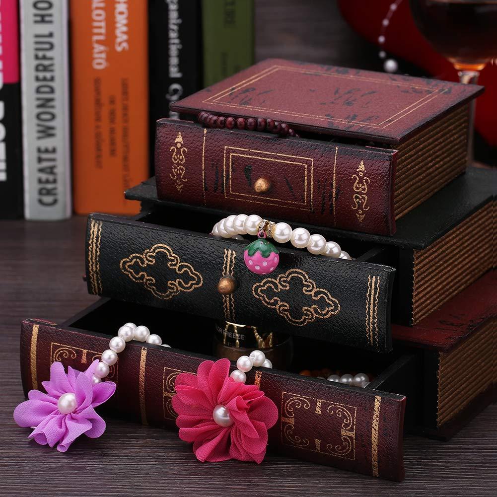 Joyero con forma de libros