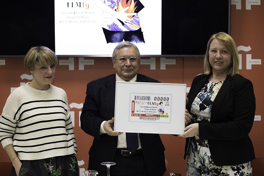 La ONCE dedica un cupón a la FLM19