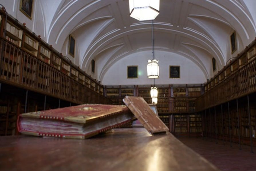 La Real Biblioteca del Monasterio de San Lorenzo de El Escorial posee más de 600 incunables
