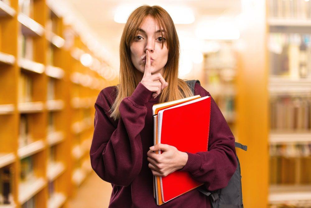 Las bibliotecas no son espacios de silencio absoluto pero si espacios libres de ruidos