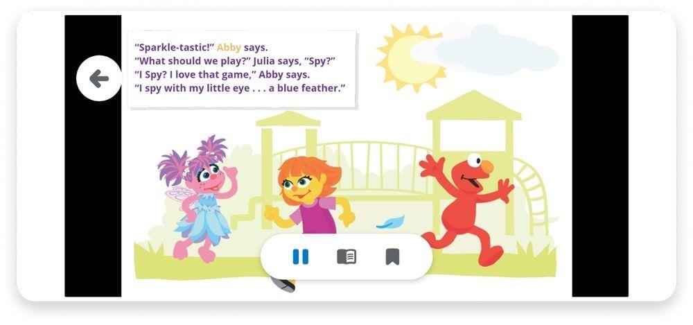 Lectura en voz alta libros infantiles Google Play Books