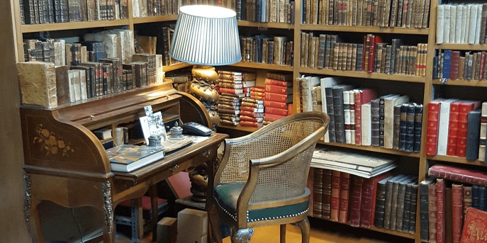 Librería anticuaria J. Cintas