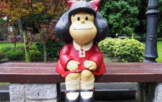 Mafalda Quino libros lectura bibliotecas