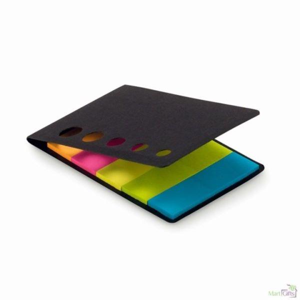 Notas adhesivas de 5 colores