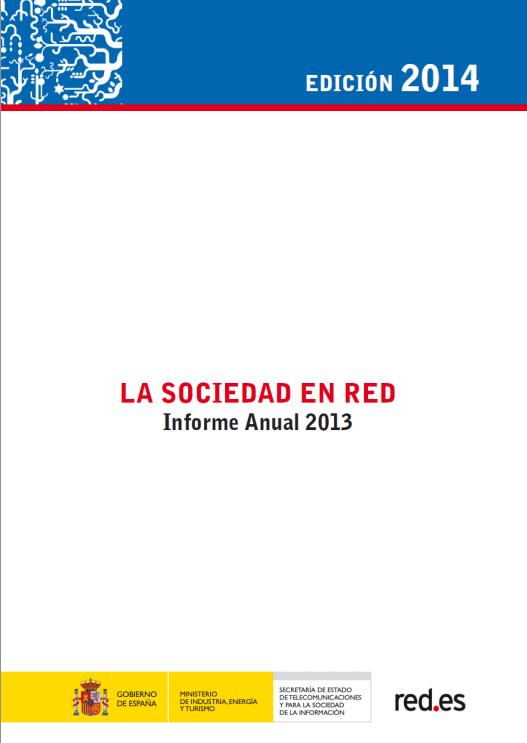 (ONTSI) La Sociedad en Red 2013