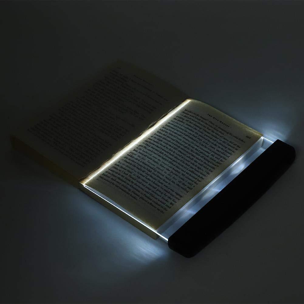 Pantalla lumínica para lectura de libros impresos